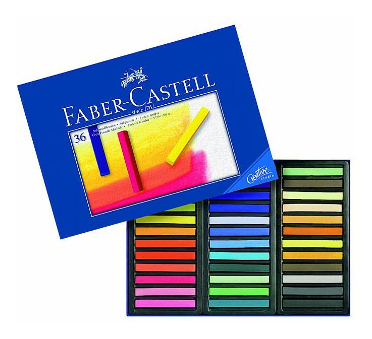 Мягкие мелки Faber Castell Gofa 36 шт,
