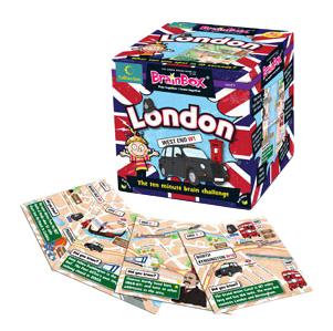 Семейная настольная игра Brain Box Сундучок знаний London