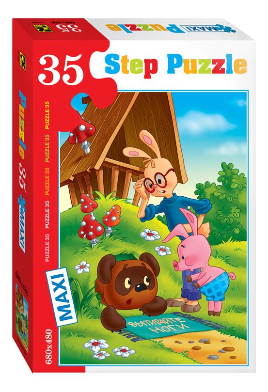 Купить Пазл Step Puzzle Maxi Винни Пух 35 элементов, Пазлы