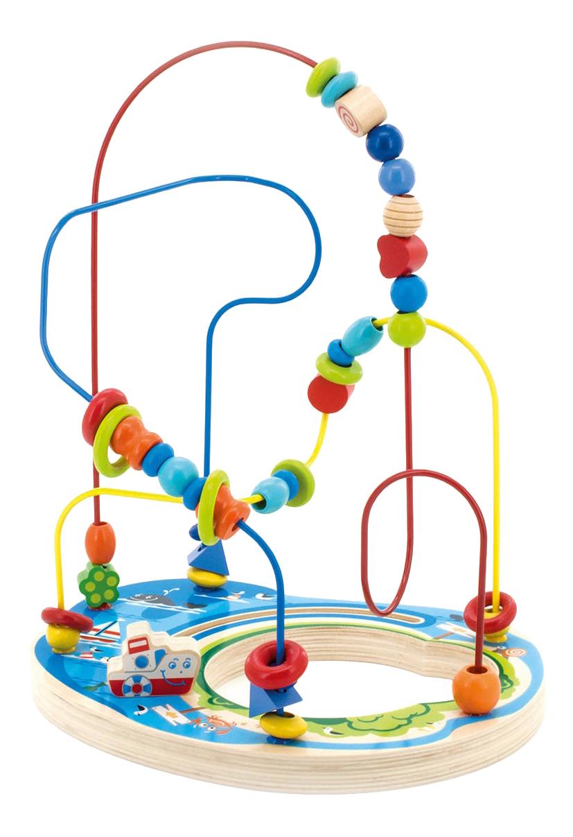 Развивающая игрушка Игрушки из дерева Морское приключение.