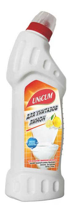 Чистящее средство для унитаза Unicum лимон