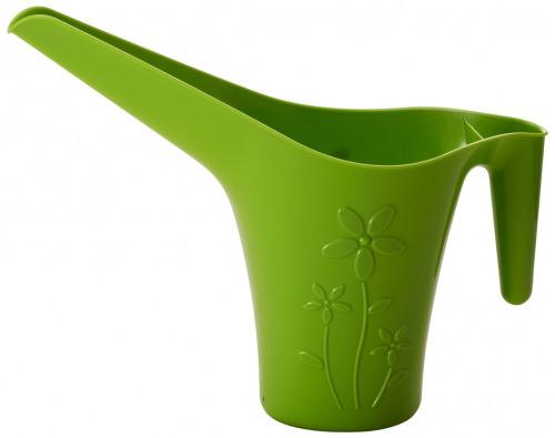 Лейка для комнатных растений INGREEN 1,7 л., салатовая