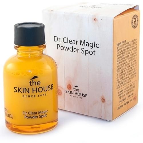 Точечное средство от воспалений THE SKIN HOUSE Dr.Clear Magic Powder, 30 мл