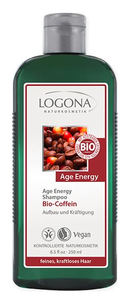 Купить Шампунь LOGONA Bio Caffeine Age Energy Shampoo 250 мл