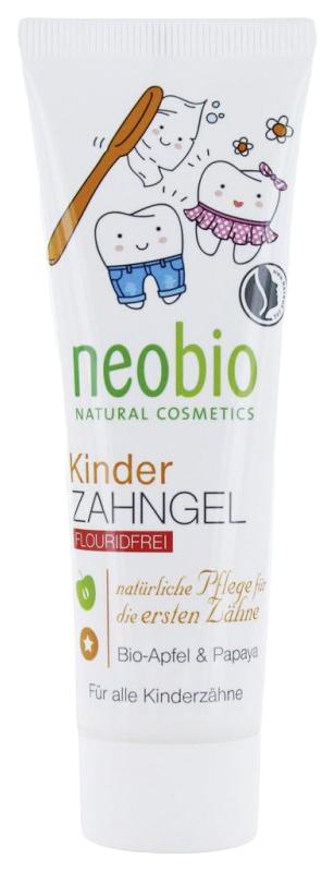 Купить Fluoride-Free Toothpaste, Детская зубная паста Neobio 8293, Детские зубные пасты