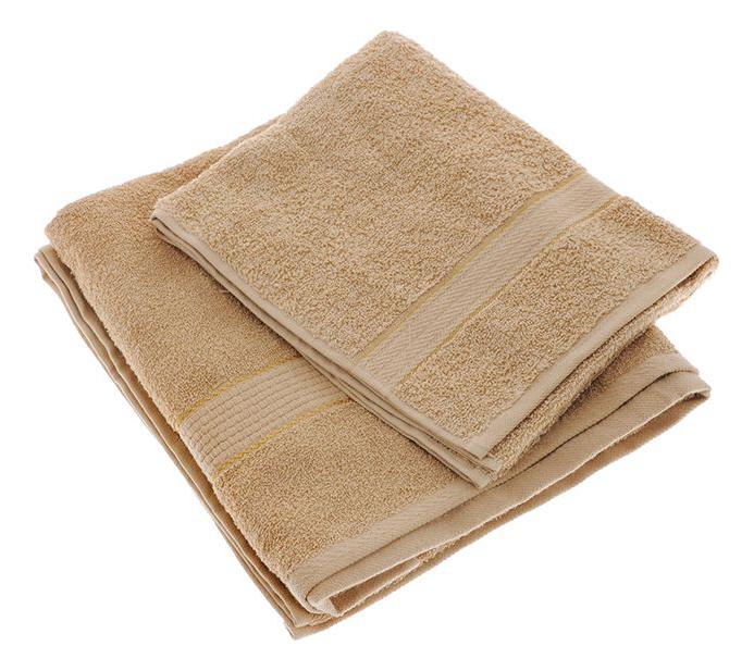 Банное полотенце Aisha коричневый