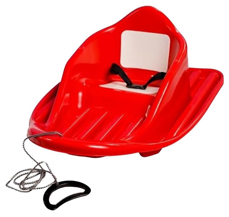 Купить Пластик Малыш C-58, Санки детские классические Пластик Малыш C-58 Красный