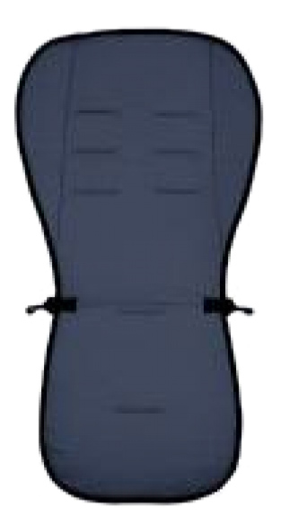 Купить Матрасик в коляску Altabebe Lifeline Polyester+3D Mesh Navy Blue, Аксессуары для детских колясок