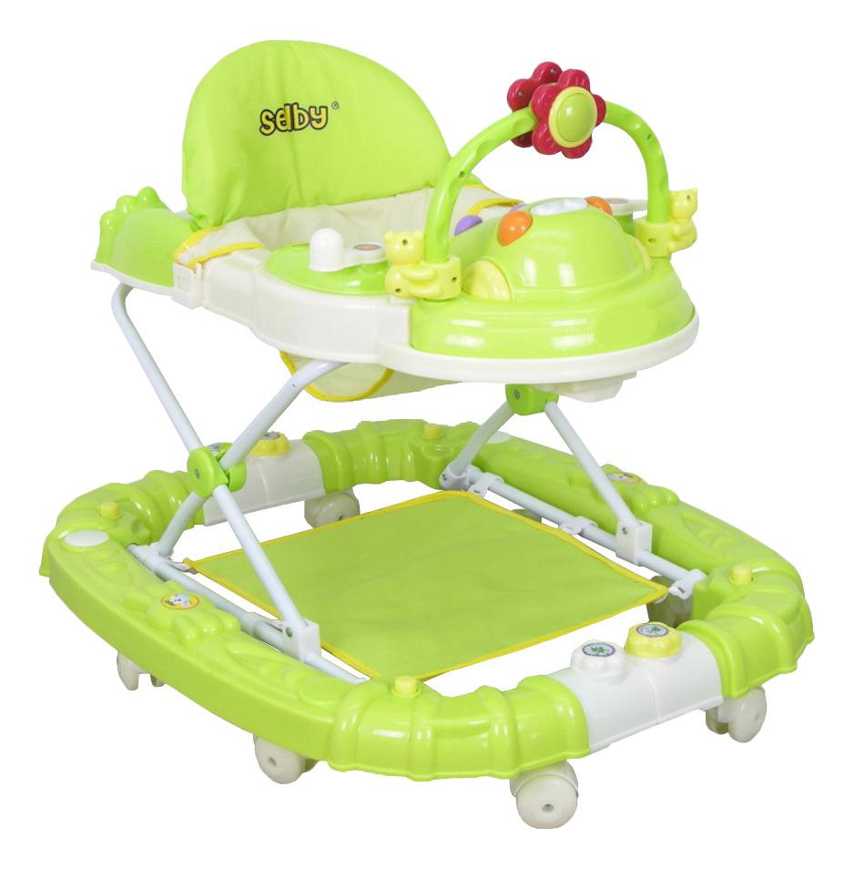 Купить Ходунки детские Тополь Selby BS-229 (3) салатовый/белый