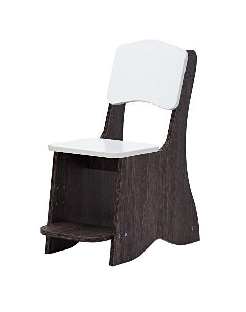 Купить Детский стул Baby Step Лофт, с регулируемой подножкой, Детские стульчики