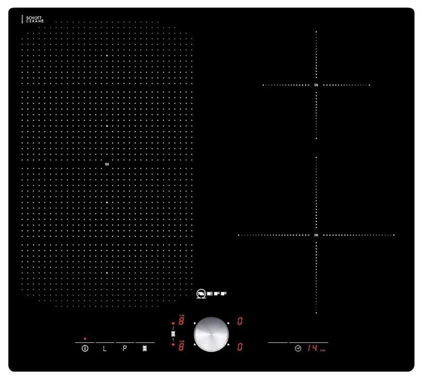 Встраиваемая варочная панель индукционная Neff T56TS51N0 Black