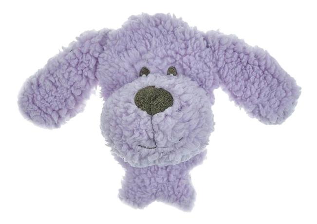 Мягкая игрушка для собак Aromadog Собачка, фиолетовый, длина 12 см фото