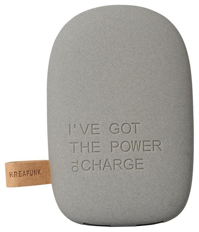 Внешний аккумулятор Kreafunk toCHARGE 6000 mAh Dark Grey