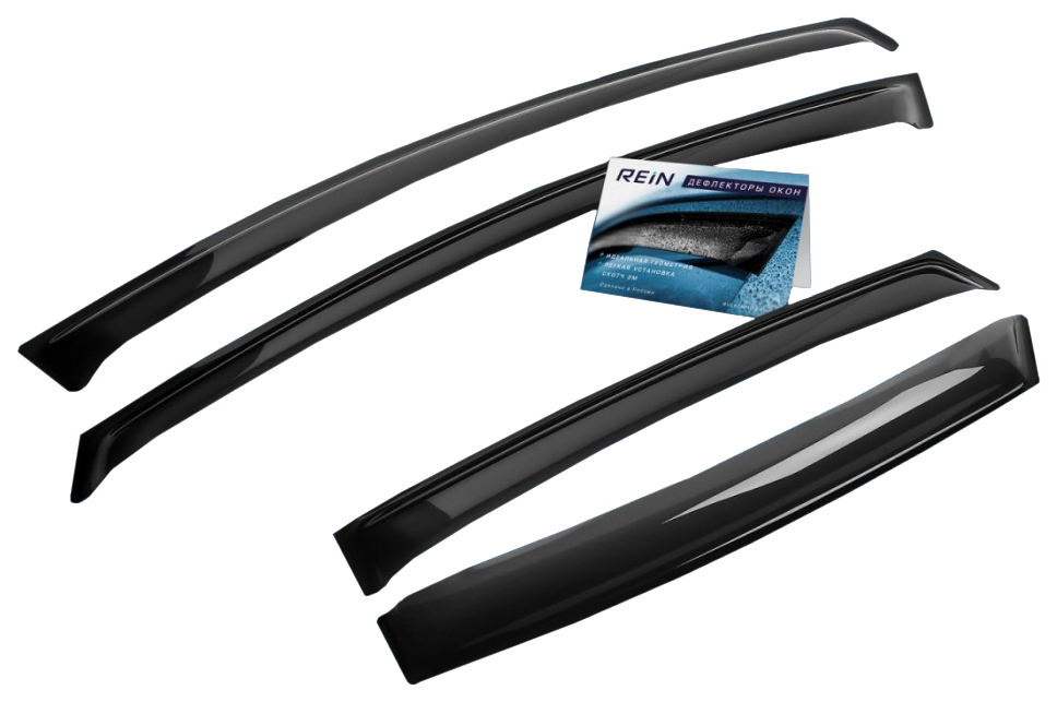 Дефлекторы на окна REIN для Mitsubishi передние и задние окна reinwv423 фото
