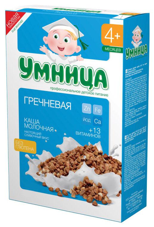Купить Гречневая 200 г, Молочная каша Умница Гречневая с 4 мес 200 г, Детские каши