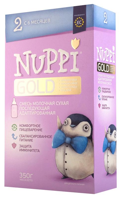 Молочная смесь NUPPI Gold 2 от