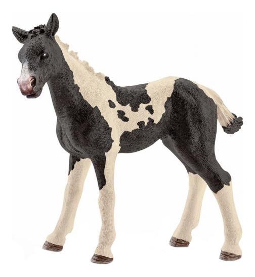 Купить Жеребенок Пинто, Фигурка лошадки Schleich Американский Пейнтхорс жеребенок 13803, Фигурки животных
