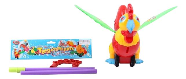 Купить Средняя, Каталка детская Play Smart Петух, PLAYSMART,