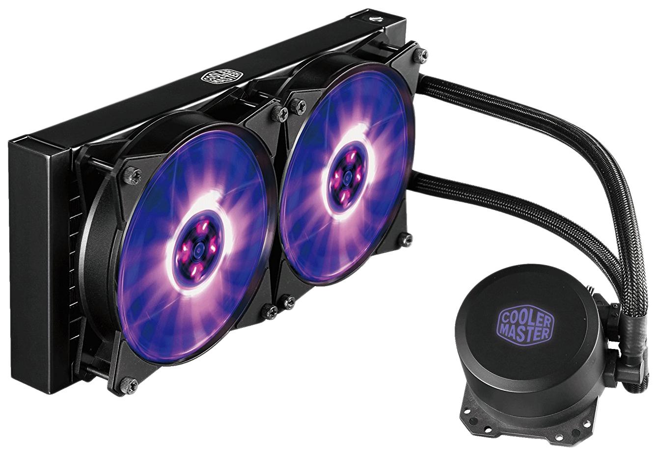Жидкостная система охлаждения Cooler Master MasterLiquid ML240L