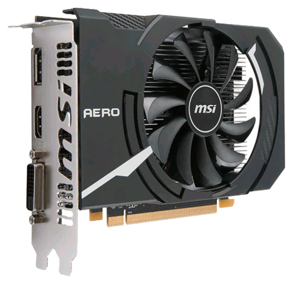 Видеокарта MSI AMD Radeon RX 550 (RX550 Aero ITX 2G OC) фото