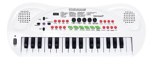 Синтезатор игрушечный 32 клавиши Shantou Gepai ZYB-B0690-2 фото