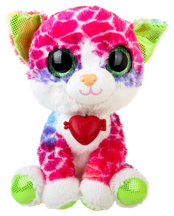 Купить Мягкая игрушка Fancy Глазастик котик 23 см KGL0RS, Мягкие игрушки животные