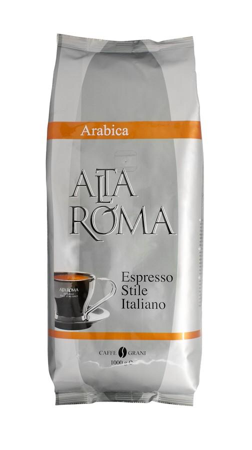Кофе в зернах Alta Roma arabica 1000 г