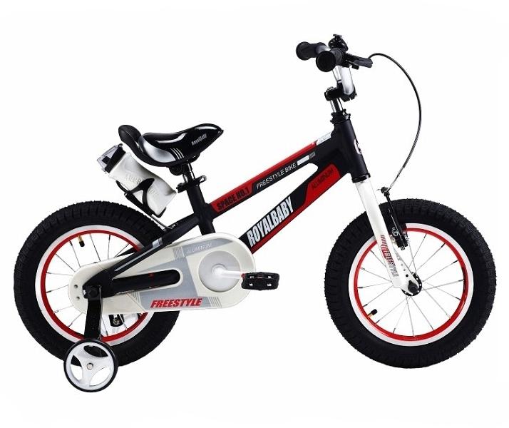 Купить Велосипед Royal Baby 2018 onesize Freestyle Space №1 Alloy Alu черный RB16-17, Детские двухколесные велосипеды