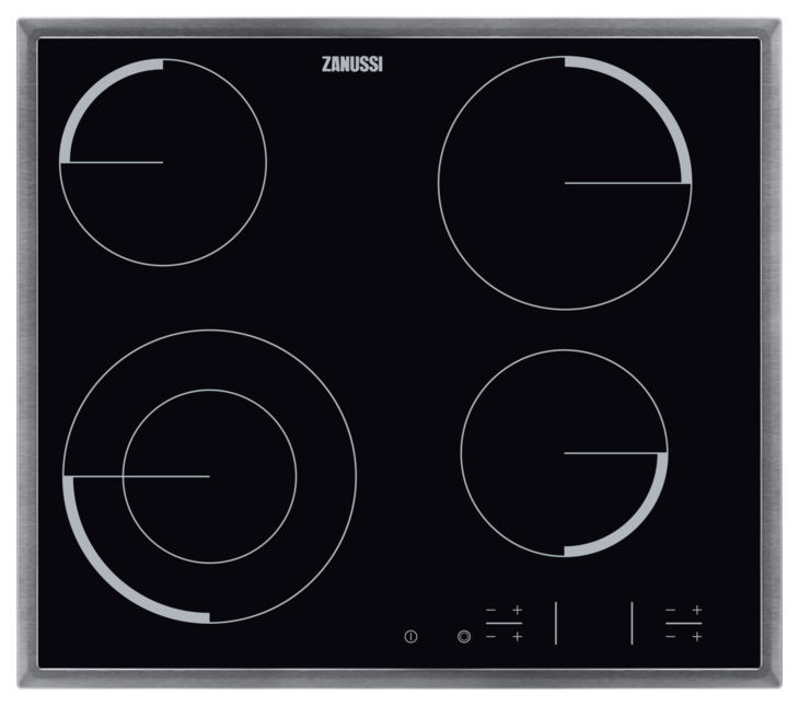 Встраиваемая варочная панель электрическая Zanussi ZEV56341XB Black