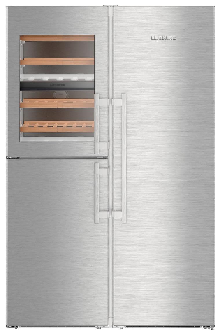 Холодильник Liebherr SBSES 8486 Silver