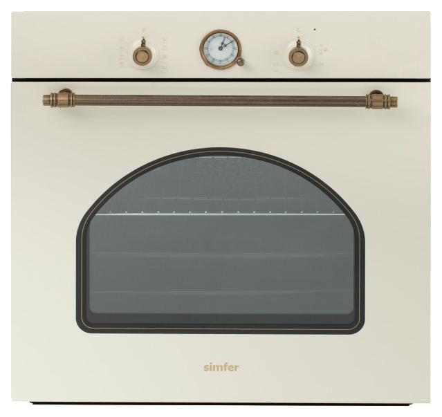 Встраиваемый электрический духовой шкаф Simfer B6EO77017 Beige