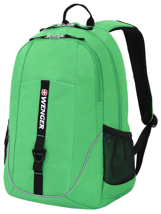 Рюкзак Wenger 6639662408 зеленый/черный 26 л