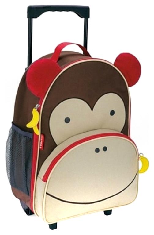 Купить Zoo Luggage Обезьяна SH 212303, Чемодан Skip Hop Zoo Luggage SH 212303,