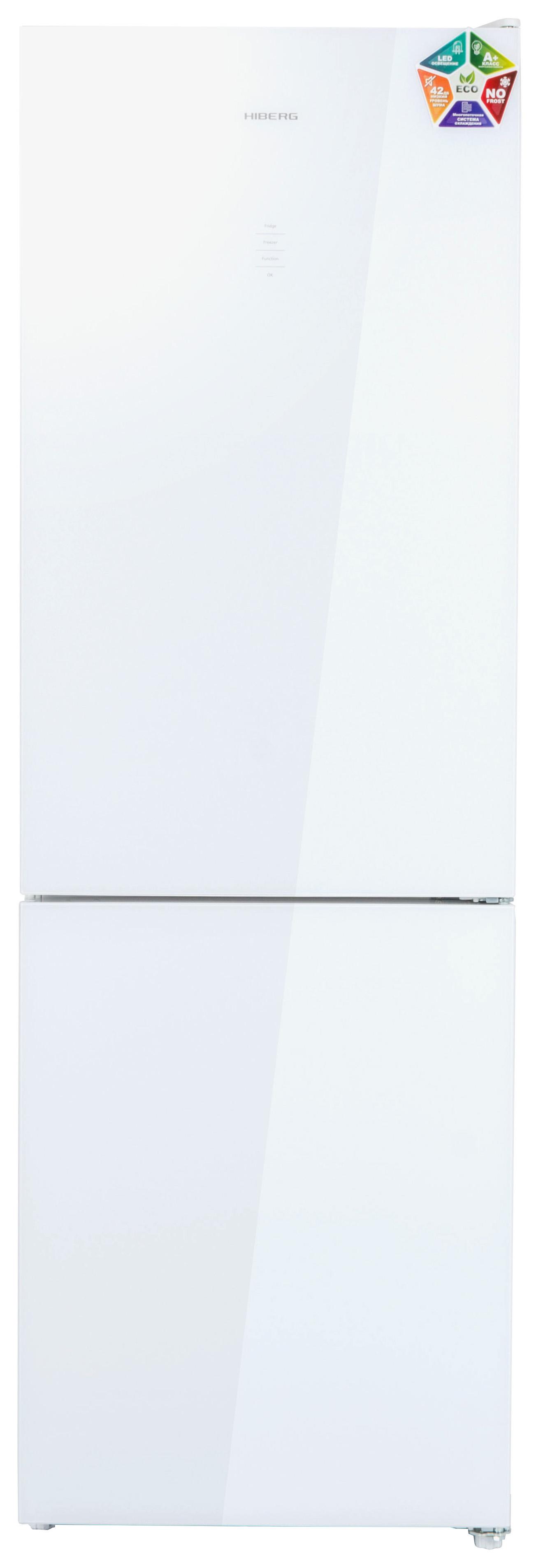Холодильник Hiberg RFC 311DX NFGW White