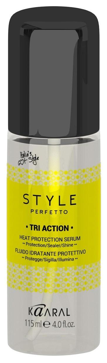 Купить Сыворотка для волос Kaaral Style Perfetto Triaction Heat Protection Serum 115 мл