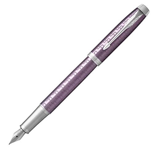 Ручка перьевая Parker IM Premium - Dark Violet CT, F