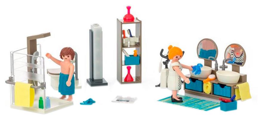Игровой набор Playmobil Городская жизнь Ванная комната 9268 фото