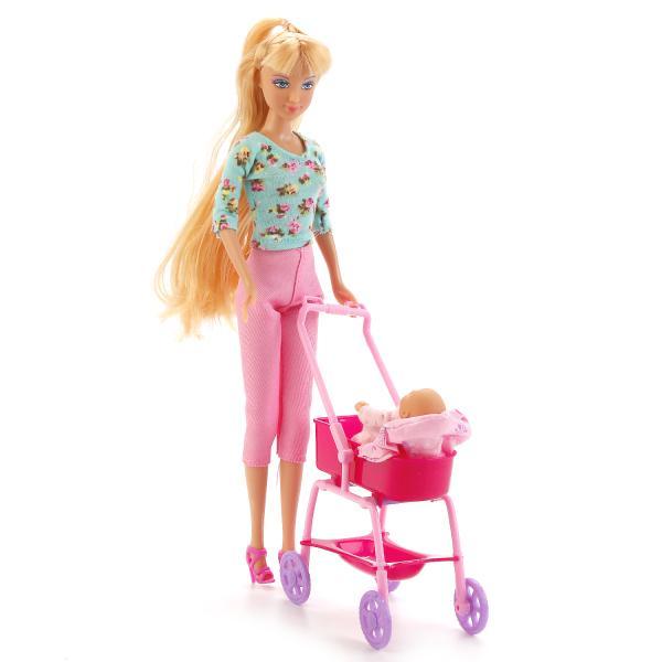 Купить Кукла дефа люси с Пупсом и аксессуарами 29 см Defa Lucy 8358, Пупсы