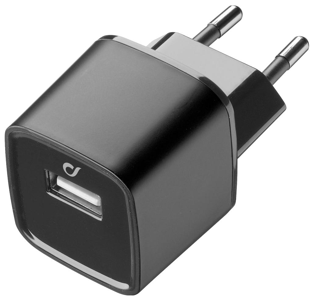 Сетевое зарядное устройство Cellular Line UNIQUE DESIGN APPLE Black