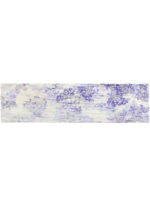 Палантин женский Eleganzza E05-7075 фиолетовый фото