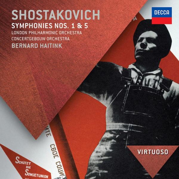 Аудио диск Haitink, Bernard Shostakovich: Symphonies Nos.1 #and# 5