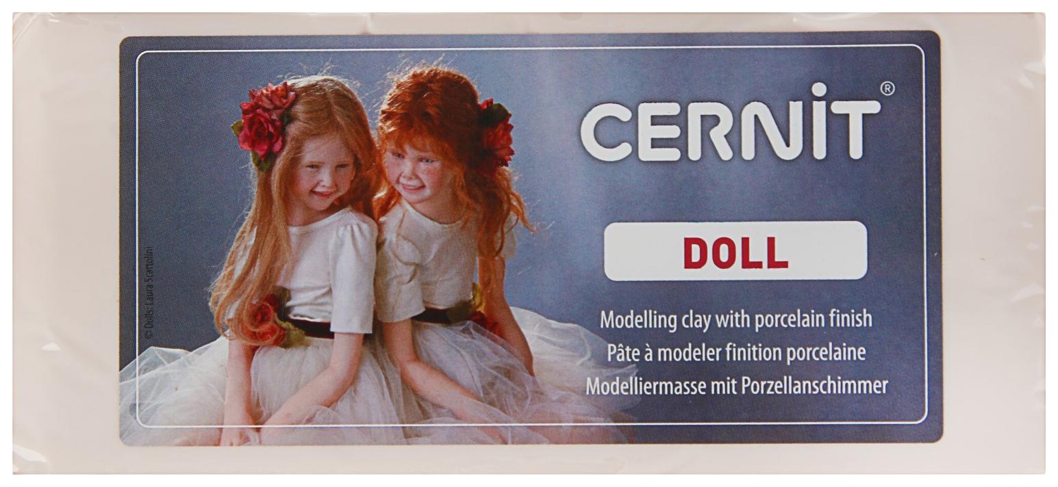 Полимерная глина запекаемая для изготовления кукол Cernit Doll 500 г телесная, №425 Cernit