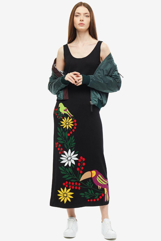 Платье женское SHADE FSHFW1910055.12 черное M
