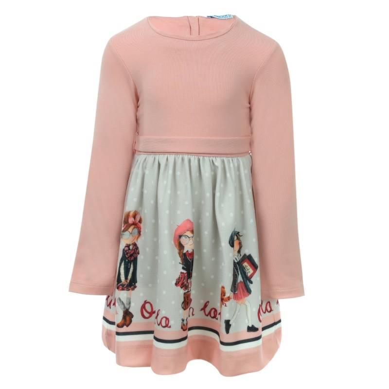 Купить Платье MAYORAL, цв. розовый, 98 р-р, Детские платья и сарафаны