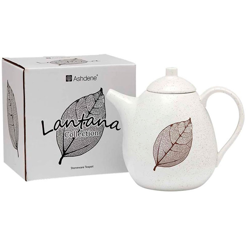 Чайник 1,2л Ashdene Lantana White Stone