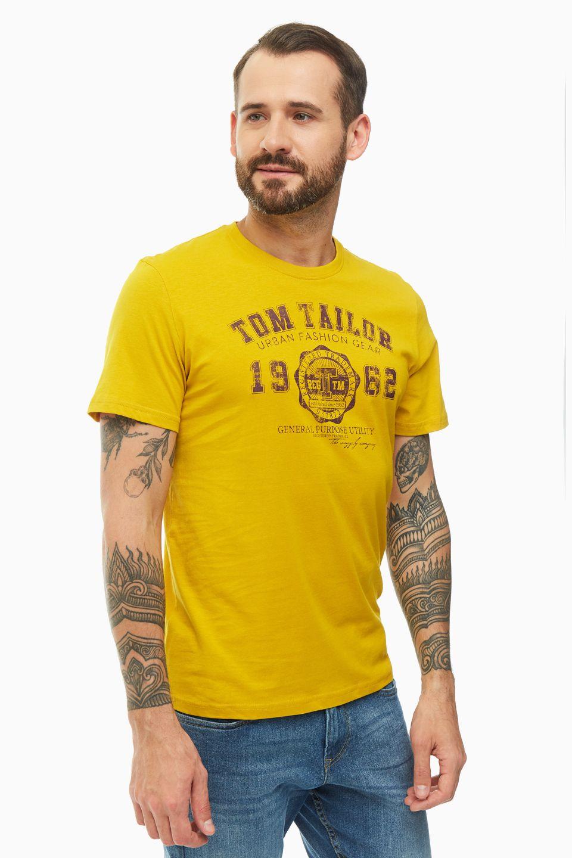 Футболка мужская TOM TAILOR 1008637-18798 желтая L фото