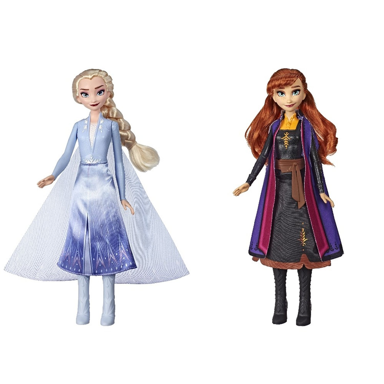 Купить Кукла Hasbro Disney Frozen Холодное Сердце 2 в сверкающем платье в ассортименте, Классические куклы