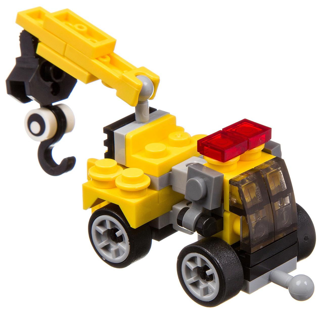 Купить Мини-конструктор Bondibon 3 в 1 Пожарная и строительная техника в ассортименте, Конструкторы пластмассовые