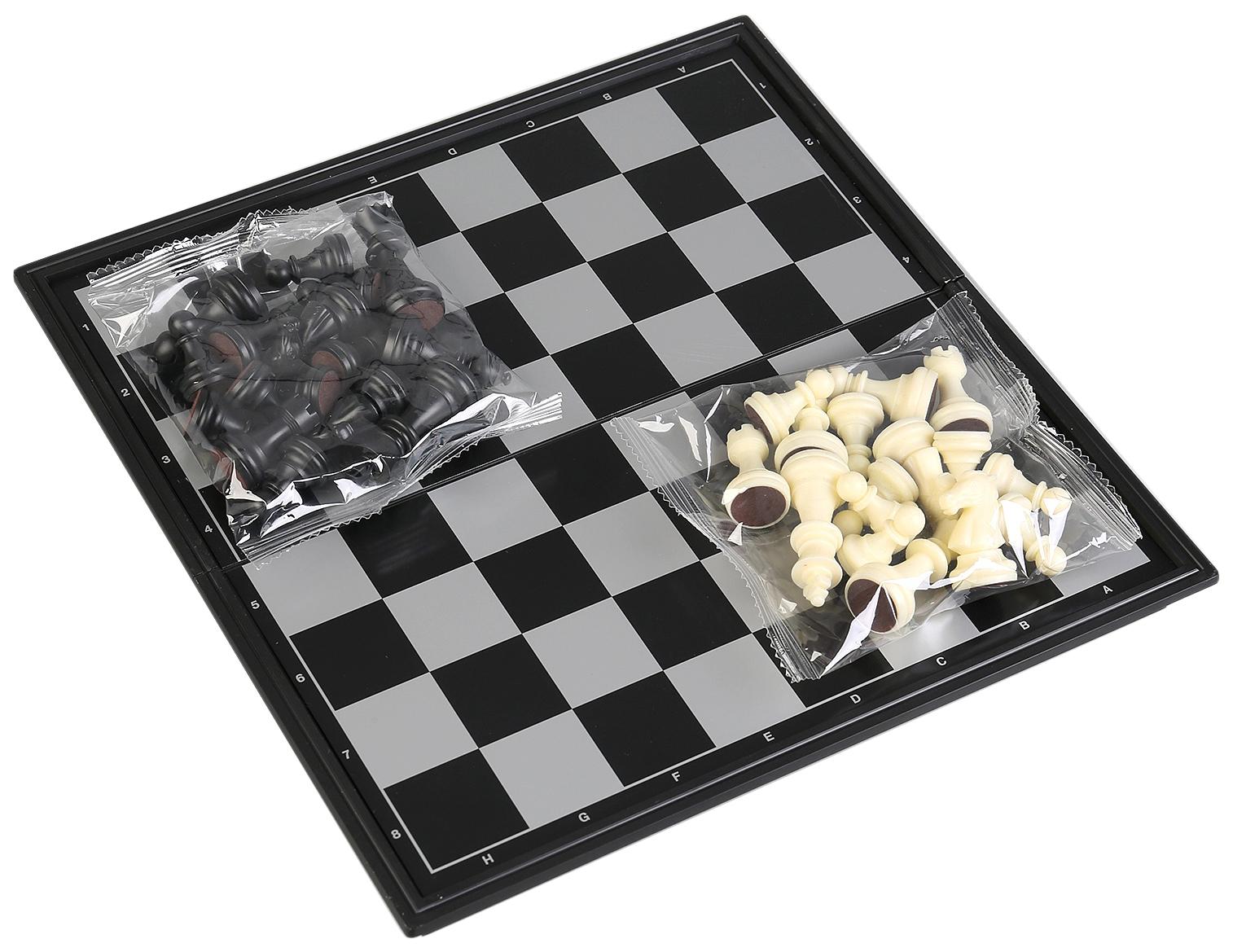 Игра настольная 3-в-1 (шахматы, шашки, нарды), артикул B236780R