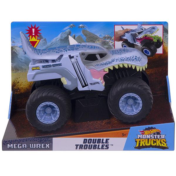 Купить Mattel Hot Wheels GCG08 Хот Вилс Монстр трак Трансформеры MEGA WREX, Игрушечные машинки